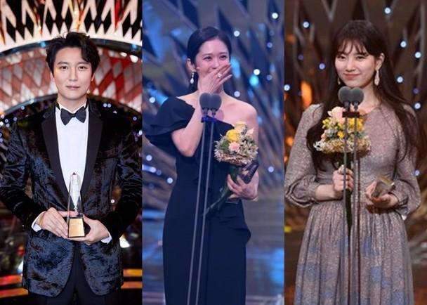 金南佶凭借韩剧《热血司祭》夺SBS演技大奖