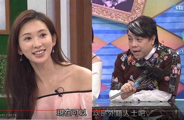 林志玲此前上節目