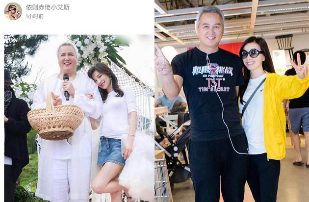 林瑞阳半年前被指发福,一个月后瘦下7.5公斤(右图)。