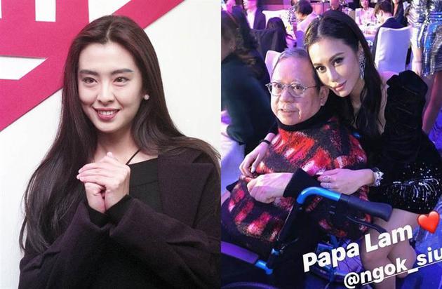 曾和王祖贤传绯闻的林建岳,年初曾出席在女儿林心女的社交平台中