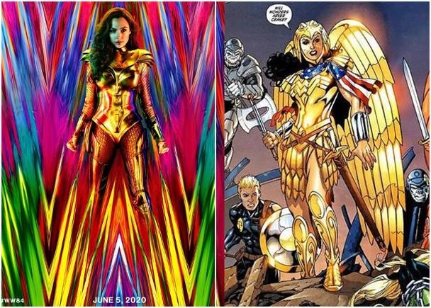 《神奇女俠1984》曝首張海報,靈感來自於原著漫畫