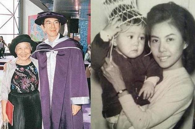黄秋生与母亲