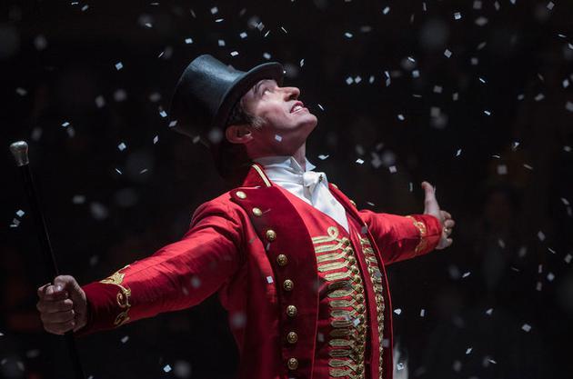 《马戏之王》原声碟重返英国榜榜首