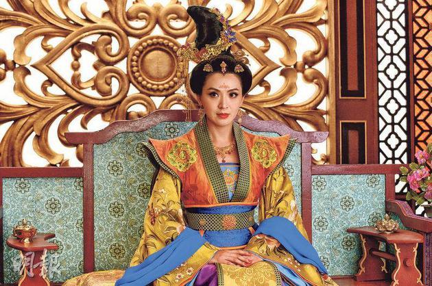陈炜在《深宫计》饰演太平公主霸气十足。