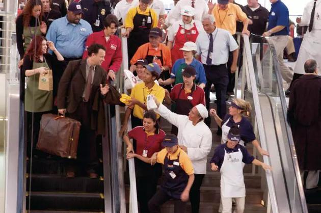 《幸福終點站》(The Terminal 2004)劇照。