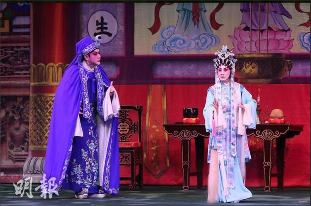 汪明荃與陳培甡合作合作演出《帝女花》