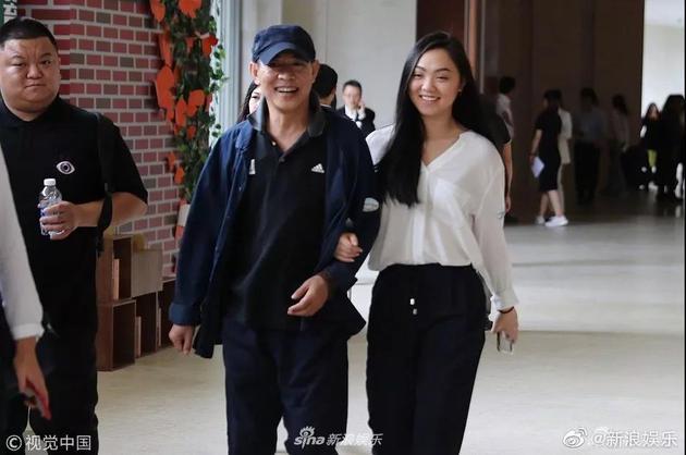 李连杰和女儿Jane