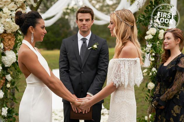 Freya和Keelin结婚了