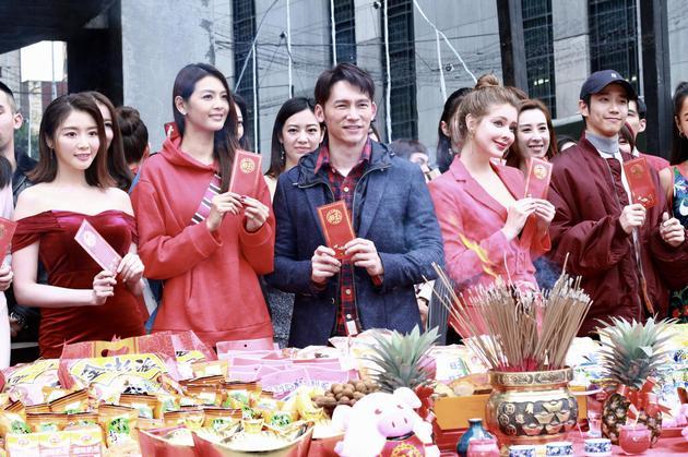总经理陈婉若率旗下温升豪、刘以豪、林嘉绮、王丽雅、吴品萱等人出席。