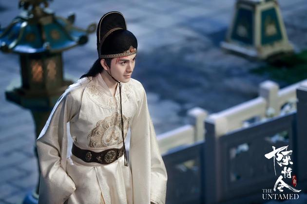 朱贊錦在《陳情令》中的金光瑤劇照