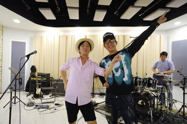 任贤齐与阿牛最近制作一起新歌《嘿~我是说你呢》