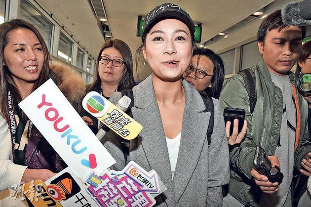 黄心颖潜水8个月突然回香港 大哭