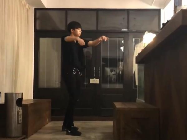 陈立农练舞