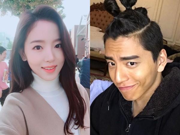 王大陆曾和姜汉娜传绯闻。