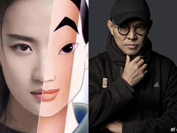 李连杰曝接《花木兰》内幕 全因15岁女儿一句话