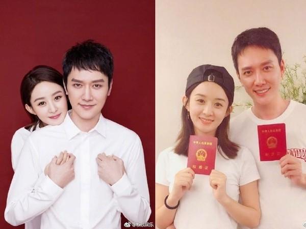 冯绍峰和赵丽颖
