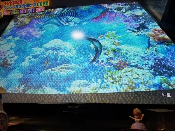 尾田榮一郎豪宅的玄關地板,一踩會變色。