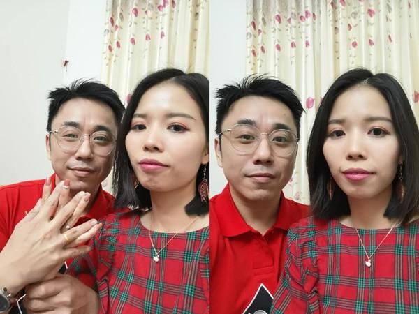 小彬彬与越南籍女友结婚