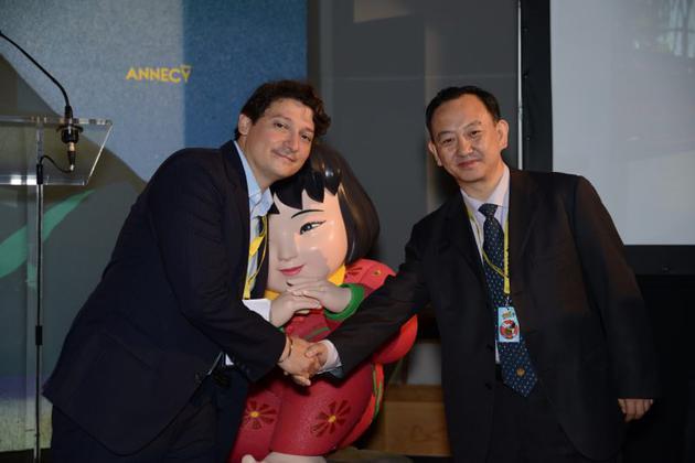 中國聯合展臺首次亮相昂納西國際動畫電影節