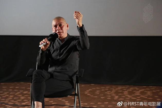 """蔡明亮在FIRST青年电影展""""新浪潮论坛""""上发言"""