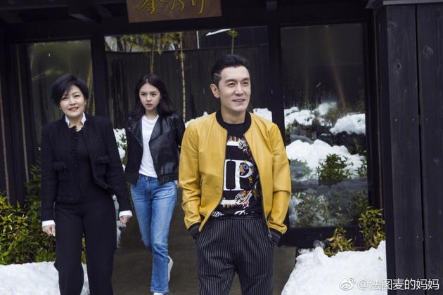 李咏哈文与女儿