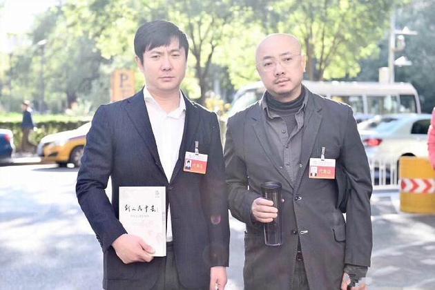 網曝徐崢沈騰會場外合影