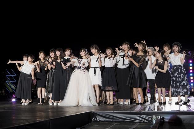 山本彩卒业演唱会现场