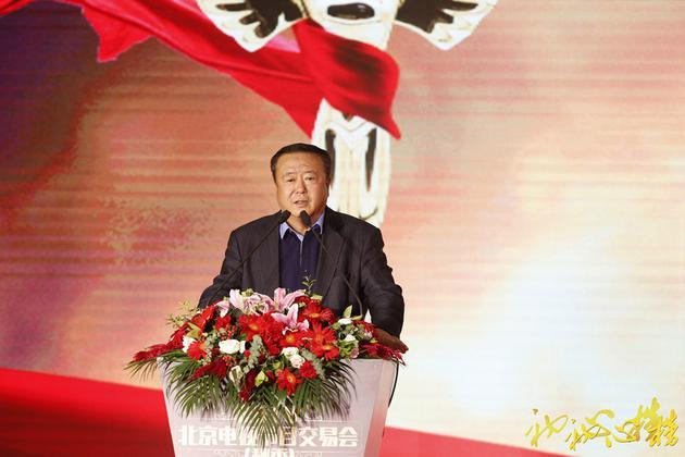 尤小刚在首届初心榜颁奖典礼上致辞