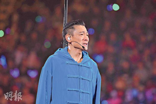 刘德华患流感作废后续演唱会