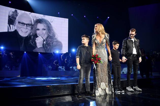 賽琳迪翁(Celine Dion)舞臺照