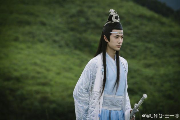 王一博飾演藍忘機