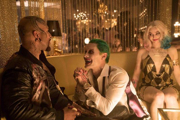 """傑瑞德·萊託在《自殺小隊》飾演""""小丑""""。"""