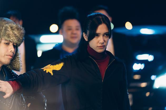 劉奕兒在《極道千金》裏飾演黑道千金倪安琪