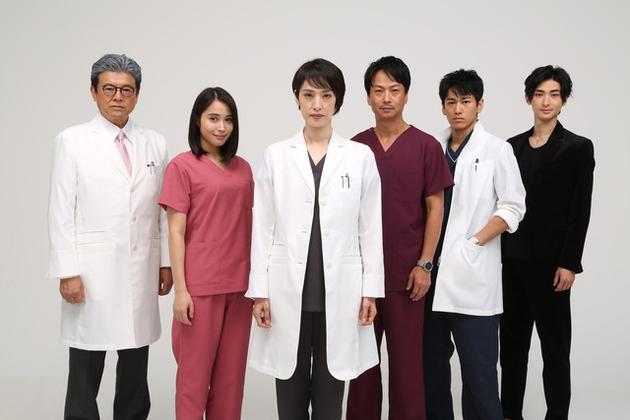天海�v希主演1月医疗剧 追加三浦