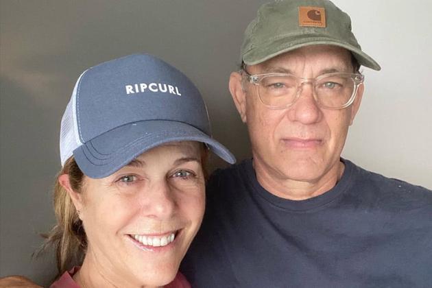 汤姆·汉克斯和妻子丽塔·威尔逊