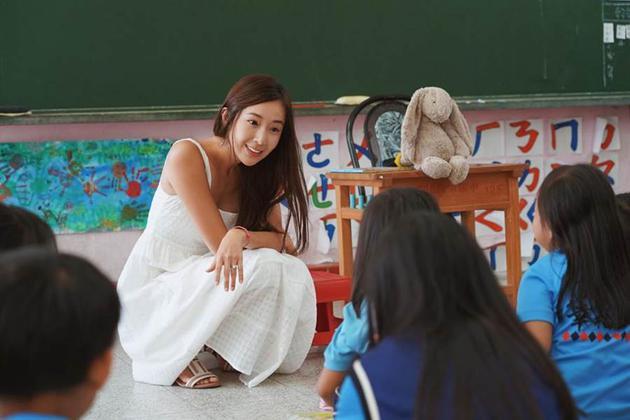 隋棠日前再度分享担任《蝴蝶朵朵》讲师时,遇到儿童被侵犯案例。