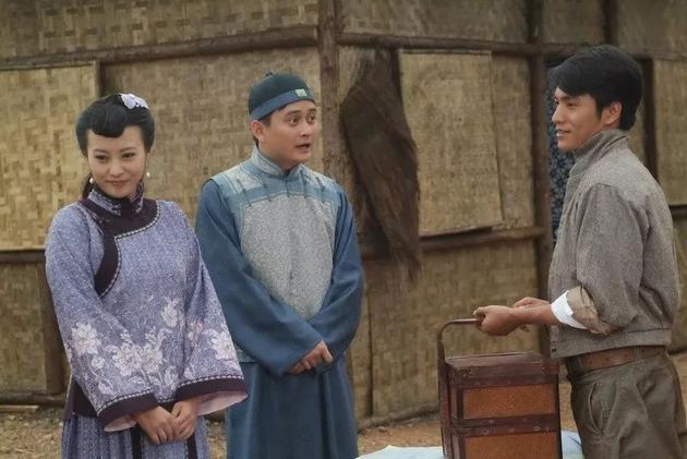 畢志飛參與編劇電視劇《朱家花園》(2007)劇照。