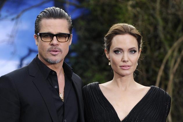 英媒曝布拉德·皮特与安吉丽娜·朱莉据传已谈妥离婚协议。