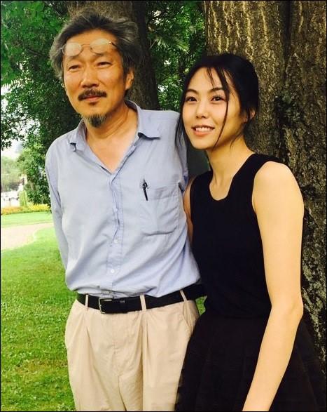 洪尚秀与他的婚外恋情人金敏喜