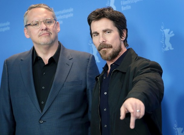 """克里斯蒂安·貝爾憑《爲副不仁》再戰""""第69屆柏林電影節""""。"""