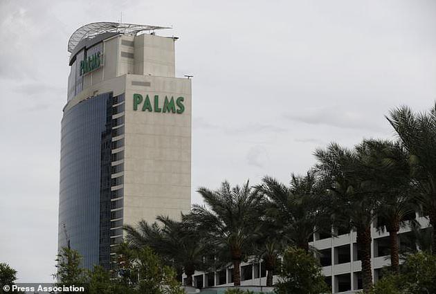 据称攻击事件发生在棕榈酒店和赌场