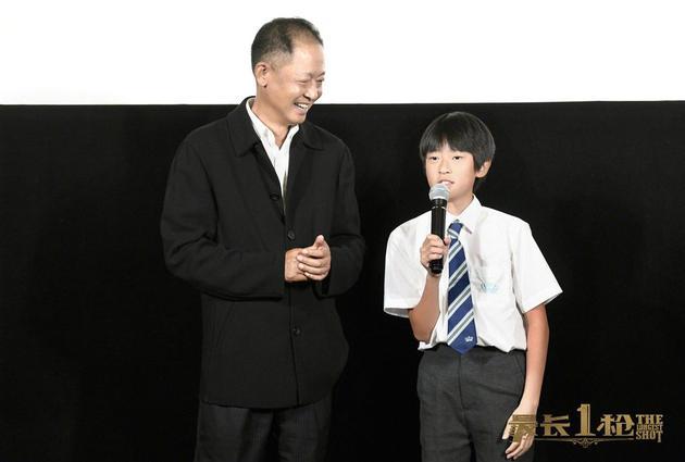 王志文與兒子同臺