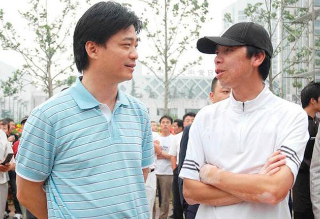 冯小刚与崔永元