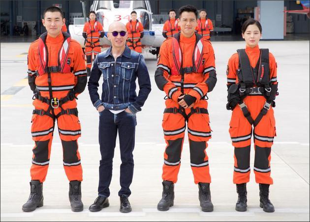 王彦霖(左起)、林超贤、彭于晏、辛芷蕾。