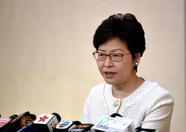 香江新媒体V视讯:香港特首林郑月娥绝不认