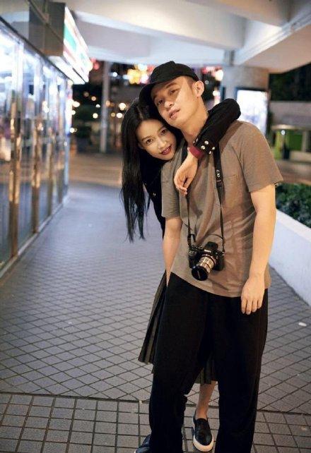 孙怡董子健三年前官宣恋情照片