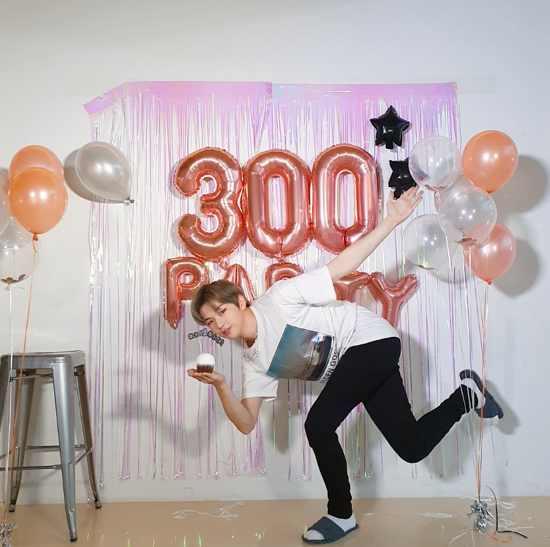 姜丹尼尔出道300天