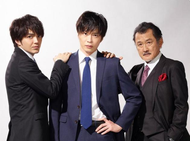 《大叔的喜欢》演员,左首林遣都、田中圭、吉田钢太郎