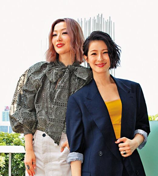 鄭秀文與賴雅妍投緣,拍完電影后成爲好友。