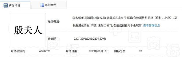 電影的發行方北京光線影業有限公司共註冊了1818個與《哪吒》相關的商標